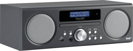TechniSat TechniRadio Digit CD DAB+ Tischradio AUX, CD, DAB+, UKW, USB Anthrazit