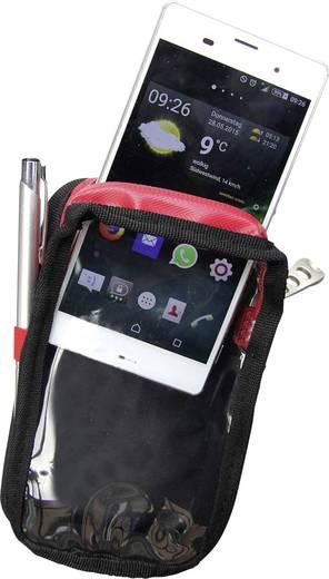 Plano P549XL Smartphone-Tasche XL Schwarz, Rot
