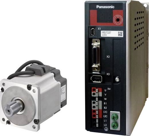 Wechselstrommotor Panasonic Servomotor MINAS-LIQI 3000 U/min 1.3 Nm