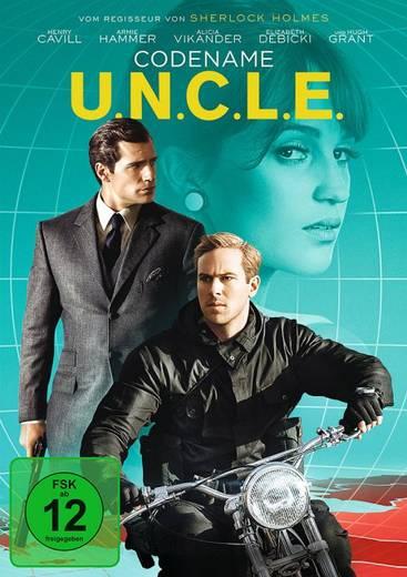 DVD Codename U.N.C.L.E. FSK: 12