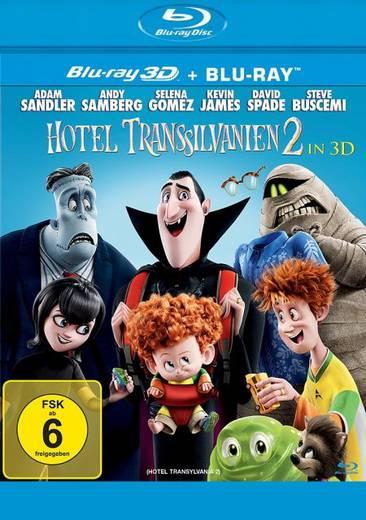 blu-ray 3D Hotel Transsilvanien 2 Blu-ray 3D + 2D FSK: 6
