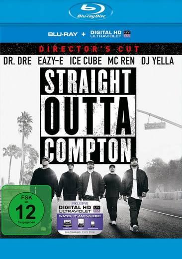 blu-ray Straight Outta Compton Directors Cut FSK: 12