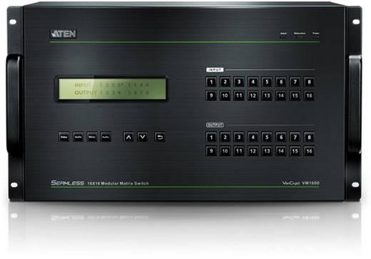 16 Port HDMI-Matrix-Switch ATEN VM1600 Seamless-funktion, über PC steuerbar 1920 x 1200 Pixel
