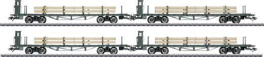 Märklin 46287 H0 4er-Set Flachwagen der DRG