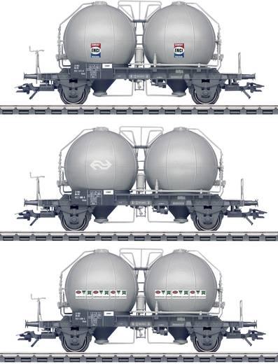 Märklin 46626 H0 3er-Set Kugelbehälterwagen Uces der NS