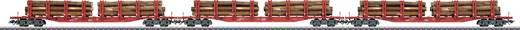 Märklin 47144 H0 3er-Set Rungenwagen Snps 719 der DB AG