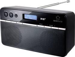 DAB+ a FM rádio Renkforce NE-6210, černá