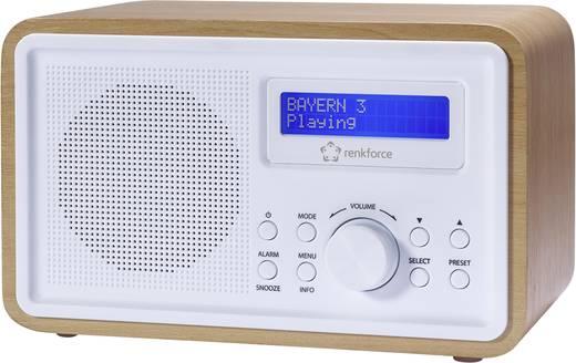 DAB+ Tischradio Renkforce NE-6223 DAB+, UKW Holz