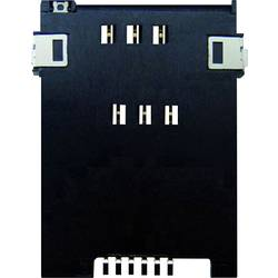Zásuvka na kartu SIM Yamaichi FMS006Z-2001-1, počet kontaktov 6 + 2, 1 ks
