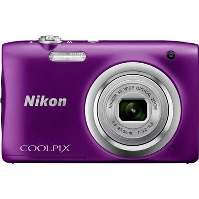 Nikon Coolpix A100 Digitalkamera 20.1 Mio. Pixel Opt. Zoom: 5 x Violett Full HD Video Preisvergleich