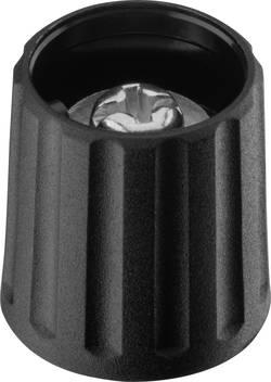 Tête de bouton rotatif Ritel 26 15 40 3 noir (Ø x h) 15 mm x 16.2 mm 1 pc(s)