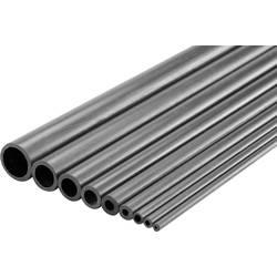 Trubkový profil Reely 1416540, (Ø x d) 10 mm x 1000 mm, vnútorný Ø: 8 mm, karbon