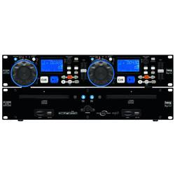 DJ Double CD MP3 player IMG STAGELINE CD-230USB IMG STAGE LINE CD-230USB