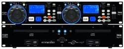Image of DJ Doppel CD MP3 Player IMG STAGELINE CD-230USB