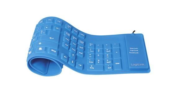Rollbare Tastatur
