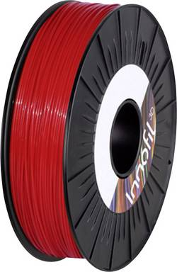 Vlákno pro 3D tiskárny Innofil 3D ABS-0109B075, ABS plast, 2.85 mm, 750 g, červená