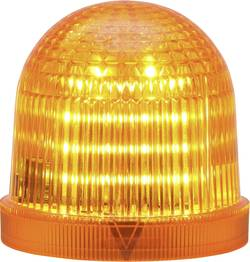 Signální osvětlení LED Auer Signalgeräte TDC, oranžová, trvalé světlo, blikající světlo, 24 V/DC, 24 V/AC