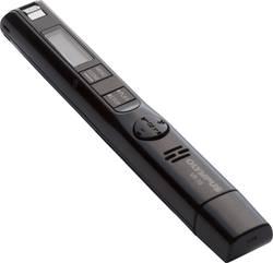 Digitální diktafon Olympus VP-10 Maximální čas nahrávání 1620 h černá
