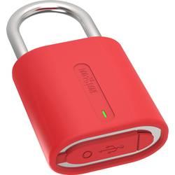 Bluetooth visiaci zámok visiaci zámok Bluetooth Dog & Bone DAB-LSM006, 51 mm, červená