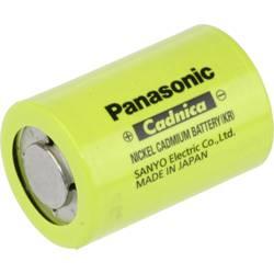 Speciální akumulátor Panasonic N1250SCR, 4/5 Sub-C, Ni-Cd, 1.2 V, 1200 mAh