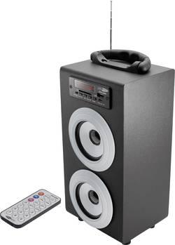 Bluetooth® reproduktor s rádiem, Caliber Audio Technology HPG415BT, USB, SD paměť. karta, černá