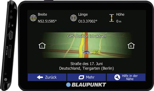 blaupunkt travelpilot 54 truck eu lmu lkw navi 12 7 cm 5. Black Bedroom Furniture Sets. Home Design Ideas