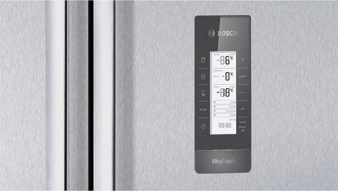 Side By Side Kühlschrank Conrad : Bosch side by side kühl gefrierkombination kmf ai french door