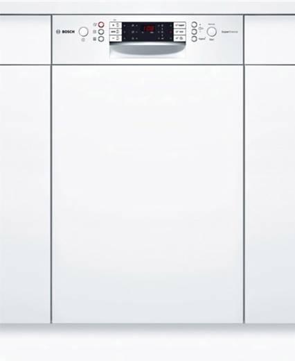 einbau geschirrsp ler 45 cm bosch serie 6 a teilintegrierbar wei. Black Bedroom Furniture Sets. Home Design Ideas