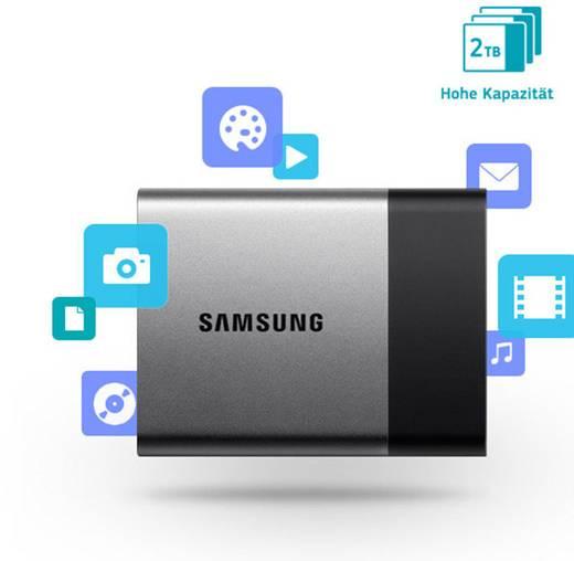 externe ssd festplatte 1 tb samsung portable t3 silber. Black Bedroom Furniture Sets. Home Design Ideas