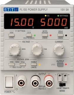 Alimentation de laboratoire réglable Aim TTi 51180-0400 0 - 15 V/DC 0 - 5 A 75 W Nbr. de sorties 1 x 1 pc(s)