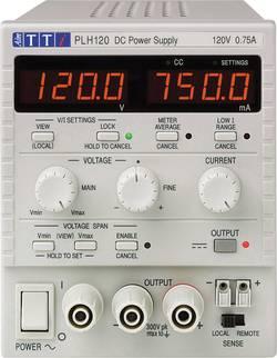 Laboratorní zdroj s nastavitelným napětím Aim TTi PLH120, 0 - 120 V, 0 - 0.75 A, 90 W