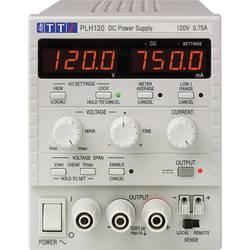 Laboratórny zdroj s nastaviteľným napätím Aim TTi PLH120, 0 - 120 V, 0 - 0.75 A, 90 W