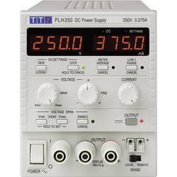 Laboratórny zdroj s nastaviteľným napätím Aim TTi PLH250, 0 - 250 V, 0 - 0.375 A, 94 W