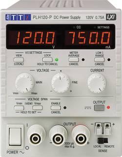Laboratorní zdroj s nastavitelným napětím Aim TTi PLH120-P, 0 - 120 V, 0 - 0.75 A, 90 W