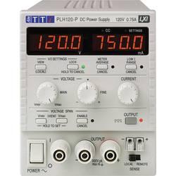 Laboratórny zdroj s nastaviteľným napätím Aim TTi PLH120-P, 0 - 120 V, 0 - 0.75 A, 90 W