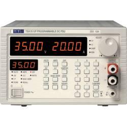 Laboratorní zdroj s nastavitelným napětím Aim TTi TSX 3510P, 0 - 35 V/DC, 0 - 10 A, 360 W, Počet výstupů: 1 x