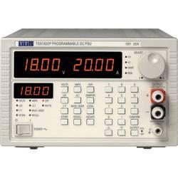 Laboratorní zdroj s nastavitelným napětím Aim TTi TSX 1820P, 0 - 18 V/DC, 0 - 20 A, 360 W, Počet výstupů: 1 x