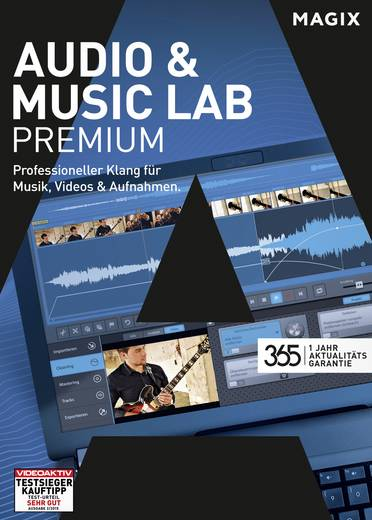 magix audio music lab premium vollversion 1 lizenz windows musik software kaufen. Black Bedroom Furniture Sets. Home Design Ideas