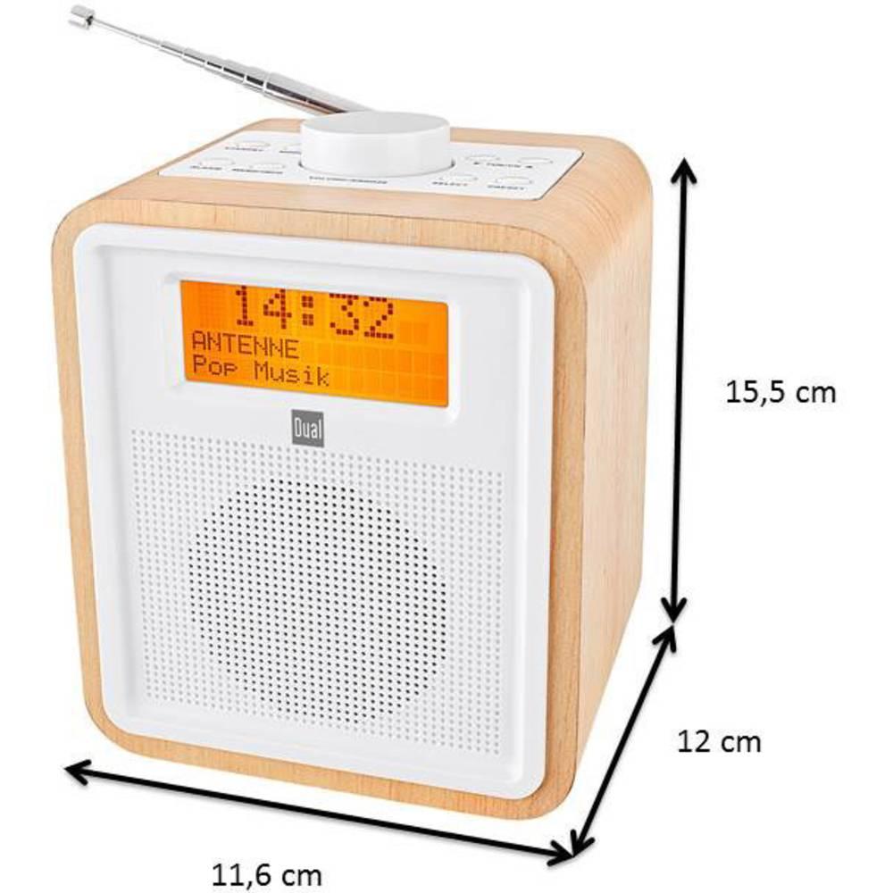 radio r veil dab dual dab cr 27 bois sur le site internet conrad 1418508. Black Bedroom Furniture Sets. Home Design Ideas