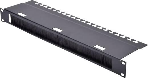 19 zoll netzwerkschrank kabelf hrung 1 he digitus dn 19 org 3u sw schwarz kaufen. Black Bedroom Furniture Sets. Home Design Ideas