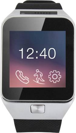 """Smartwatch inteligentné hodinky Xlyne X29W, 2.4 cm, 0.95 """", čierna"""