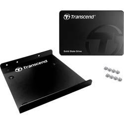 """Interný SSD pevný disk 6,35 cm (2,5 """") Transcend TS128GSSD340K, 128 GB, Retail, SATA III"""