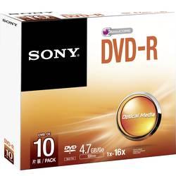 DVD-R 4.7 GB Sony DMR47SS, 10 ks, SlimCase