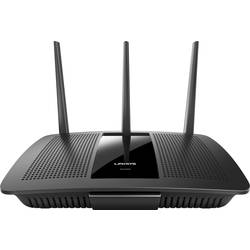 Wi-Fi router Linksys EA7500, 2.4 GHz, 5 GHz, 1.9 Mbit/s