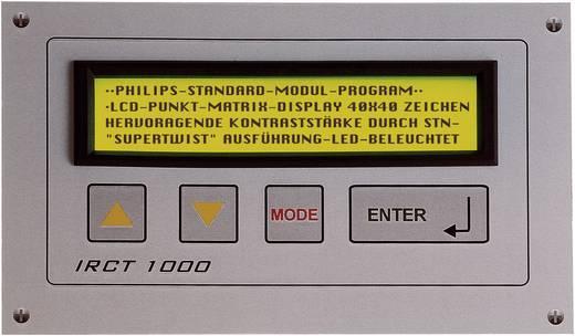 Frontrahmen Schwarz Passend für: LC-Display 16 x 1 (B x H) 79.5 mm x 25 mm ABS