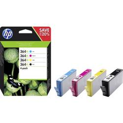 Sada náplní do tlačiarne HP 364 XL N9J74AE, čierna, zelenomodrá, purpurová, žltá