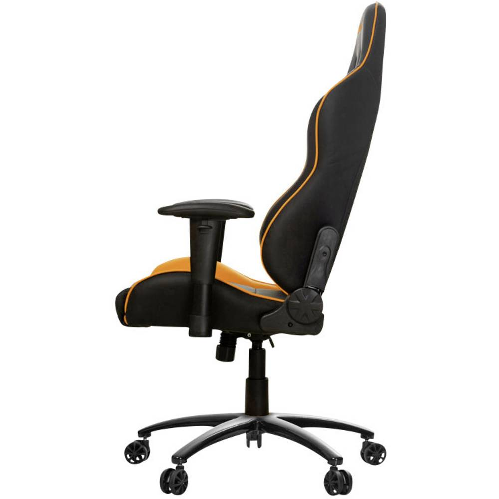 gaming stuhl akracing nitro gaming chair schwarz orange im conrad online shop 1420050. Black Bedroom Furniture Sets. Home Design Ideas