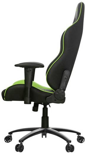 gaming stuhl akracing nitro gaming chair schwarz gr n. Black Bedroom Furniture Sets. Home Design Ideas