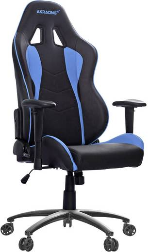 gaming stuhl akracing nitro gaming chair schwarz blau kaufen. Black Bedroom Furniture Sets. Home Design Ideas