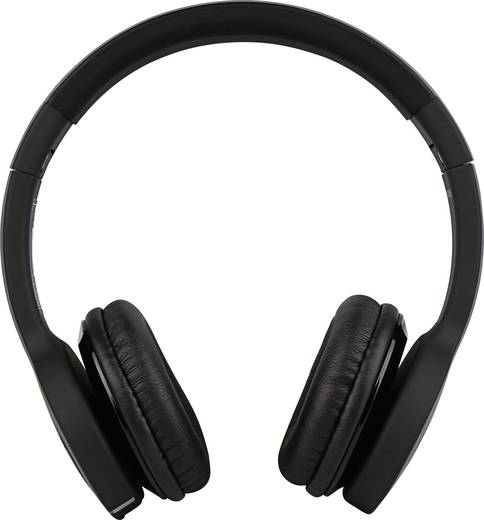 Minix NT-II Bluetooth® Kopfhörer On Ear Faltbar, Headset, NFC Schwarz
